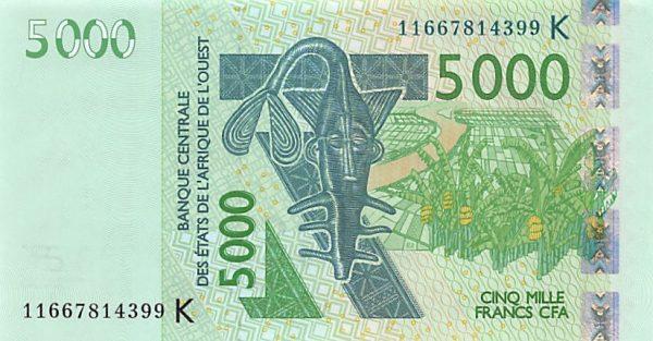 عملة بوركينا فاسو