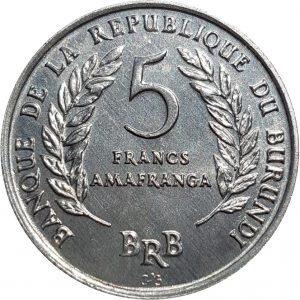 عملة بوروندي