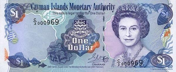 عملة دولار جزر كايمان