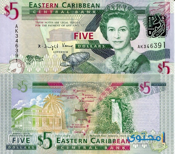 ما هي عملة دولة دومينيكا 4
