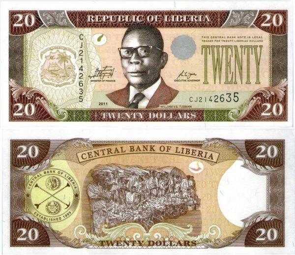 عملة دولة ليبيريا