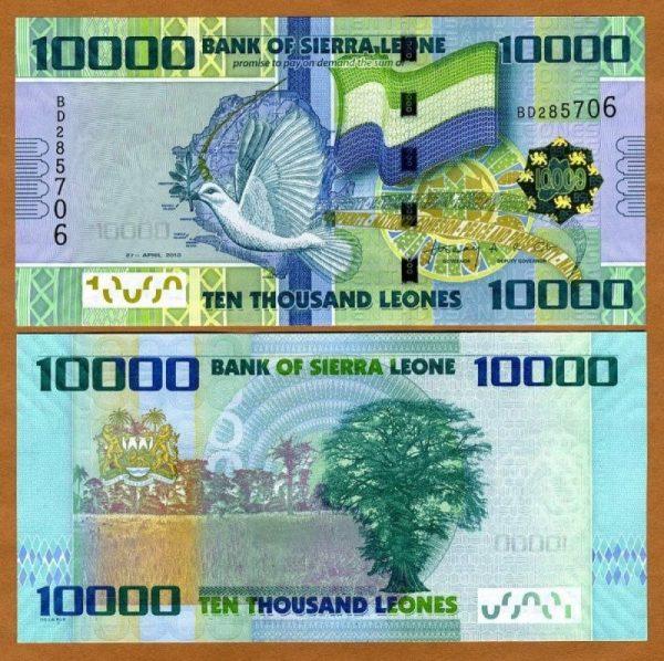 عملة سيراليون