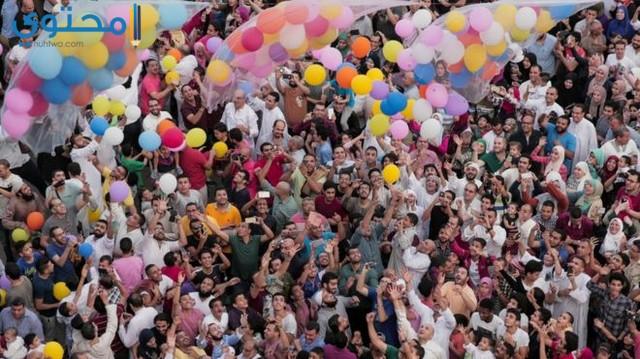 احتفالات عيد الفطر في مصر