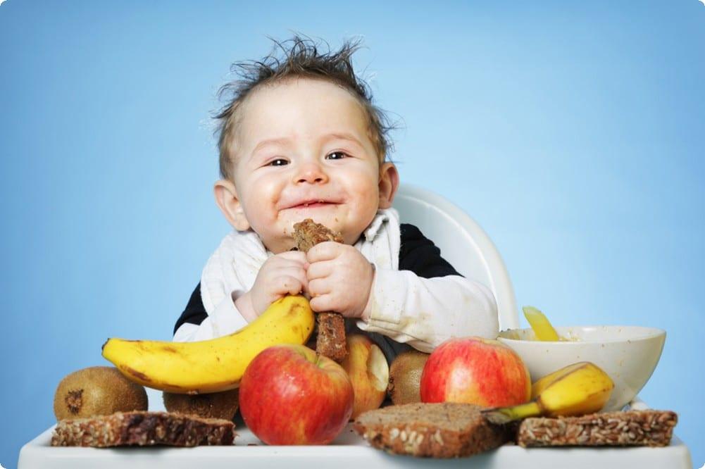 الفوائد الصحية لغذاء الأطفال