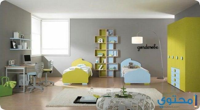 أحدث تصميمات غرف الأطفال للبنات والأولاد - موقع محتوى