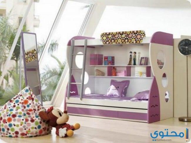 غرف نوم بنات اطفال مودرن