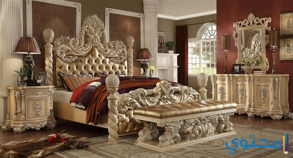أشكال غرف نوم تركية فخمة