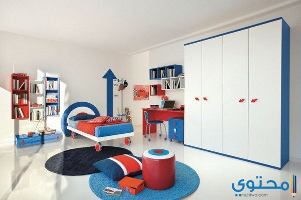 أشكال غرف نوم اولاد مودرن