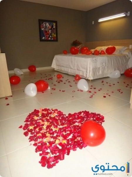 غرف نوم للعرائس بطابع رومانسي