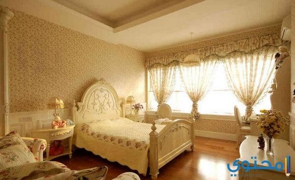 أحدث ديكورات غرف النوم للعرسان