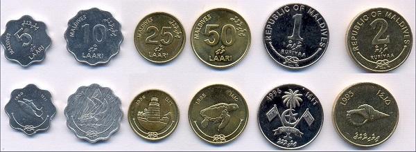 فئات الروفية المالديفية المعدنية