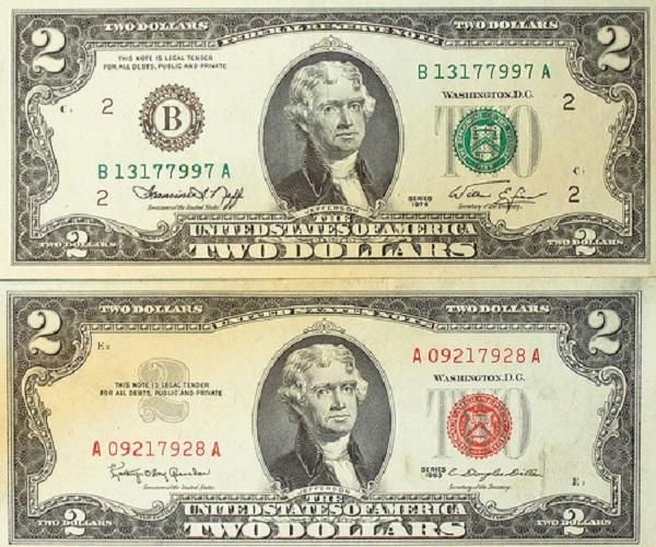 فئة أثنان دولار أمريكي