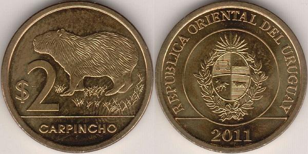 فئة أثنين بيزو أوروجواي