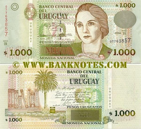 فئة ألف بيزو أوروجواي