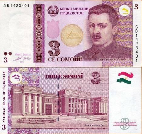 فئة الثلاثة سامان الورقية النقدية