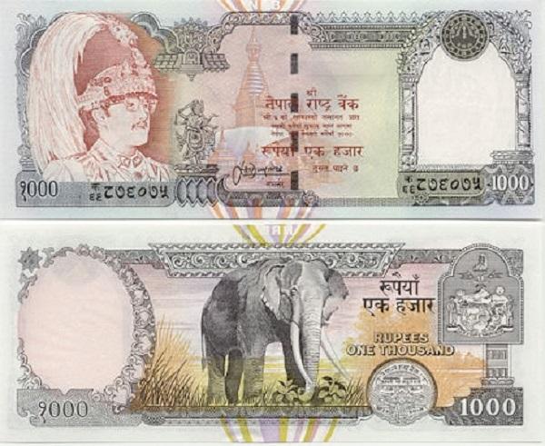 فئة الـ 1000 روبية