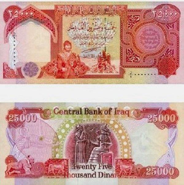 فئة الـ 25 ألف دينار