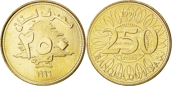 فئة الـ 250 ليرة