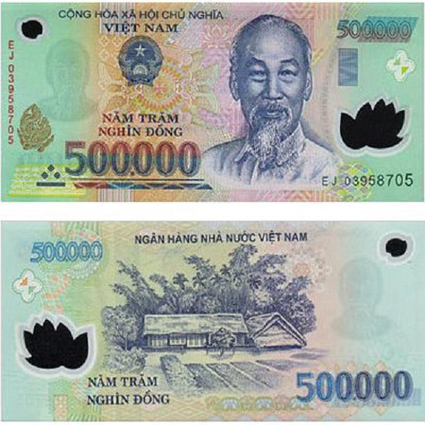 فئة الـ 500 ألف دونج