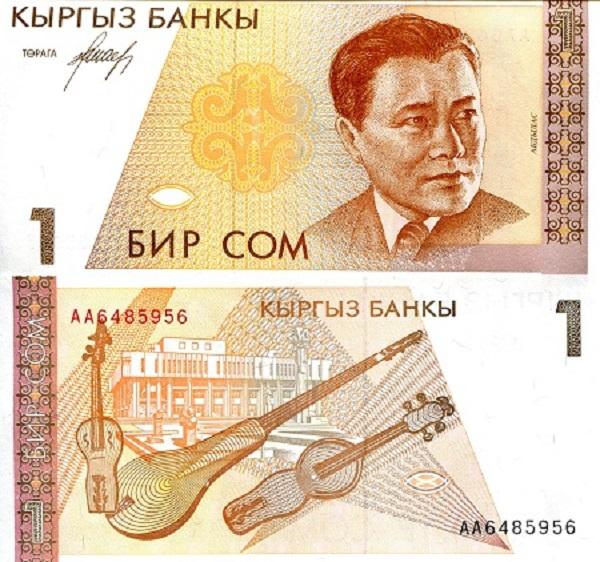 فئة الواحد سوم القرغيزي
