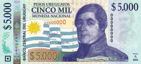 فئة خمسة آلاف بيزو أوروجواي
