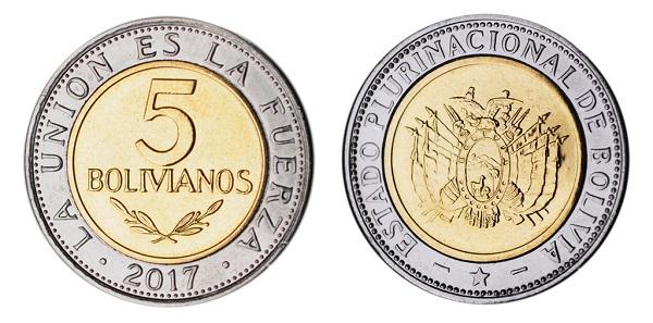 فئة خمسة بوليفيانو بوليفي