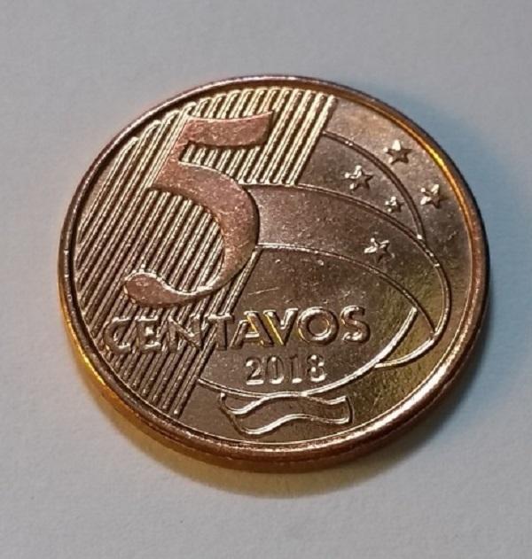 فئة خمسة سنتافو برازيلي