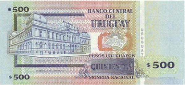 فئة خمسمائة بيزو أوروجواي