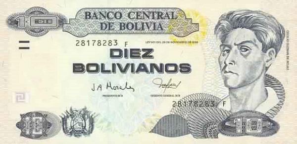 فئة عشرة بوليفيانو بوليفي
