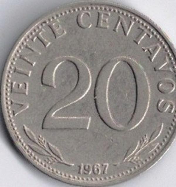 فئة عشرون سنتافوس بوليفي