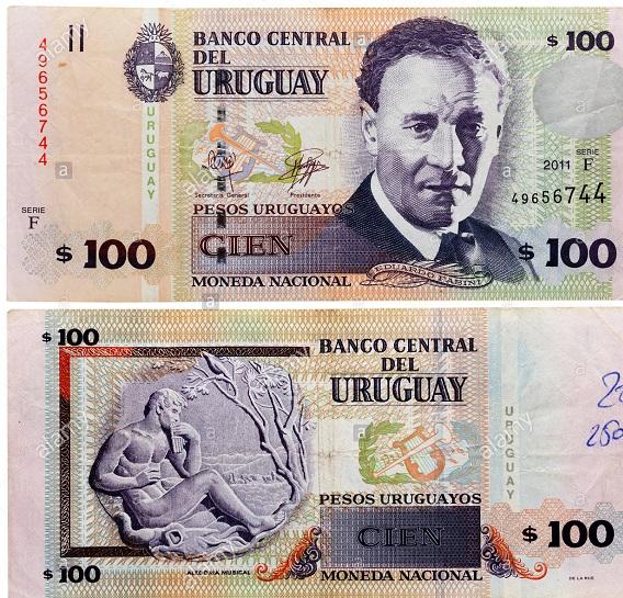 فئة مئة بيزو أوروجواي