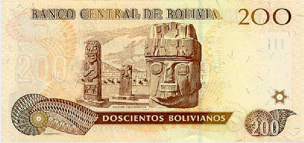 فئة مئتين بوليفيانو بوليفي