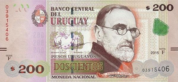 فئة مئتين بيزو أوروجواي