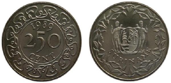فئة 250 سنت معدني