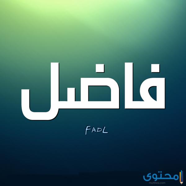 معنى اسم فاضل