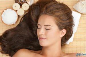 طريقة فرد الشعر المجعد بالنشا