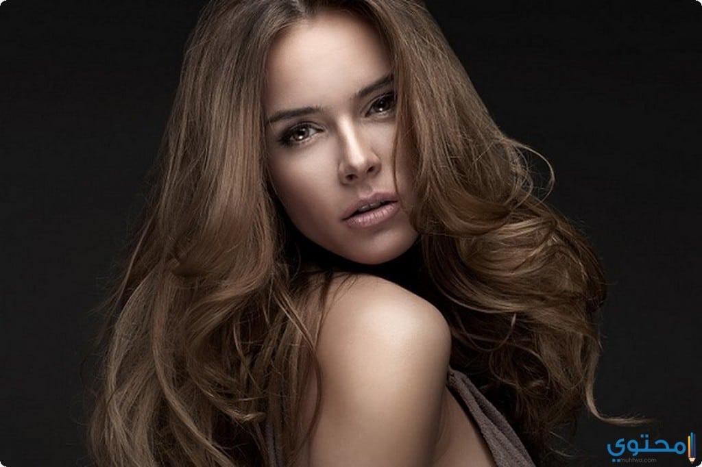 فرد الشعر بدون خلطات