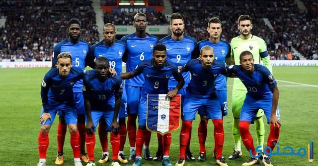 استعدادت فرنسا للمونديال 2018