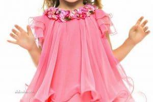 ملابس وفساتين بنات للعيد 2018