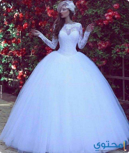موديلات لفساتين زفاف مميزة وأنيقة