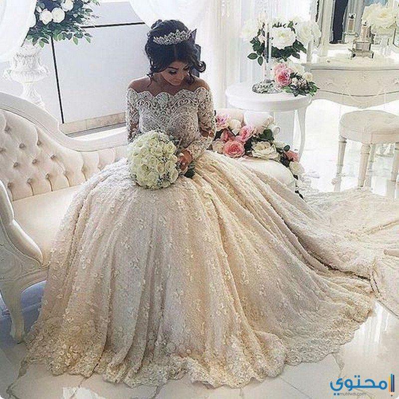 6443be9af أخر موديلات فساتين زفاف 2019 - موقع محتوى