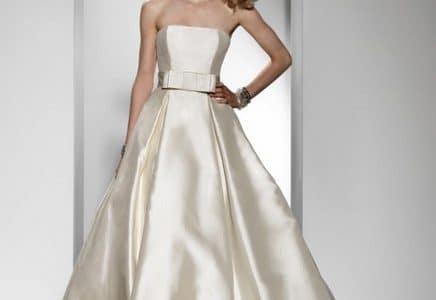 أفخم فساتين زفاف من الحرير
