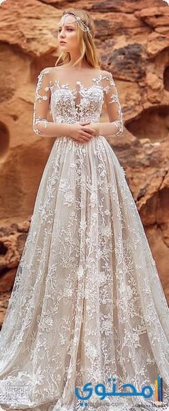 تصاميم لفساتين افراح