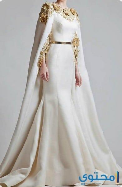 تصاميم لفساتين خليجية