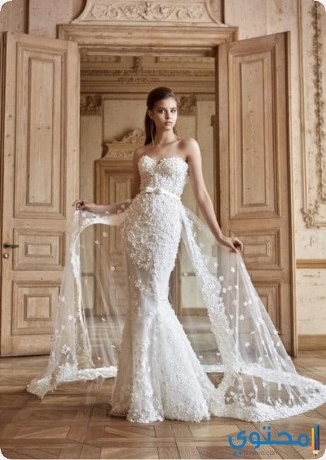 649e5d7abcb59 احدث قصات فساتين زفاف تركية - موقع محتوى