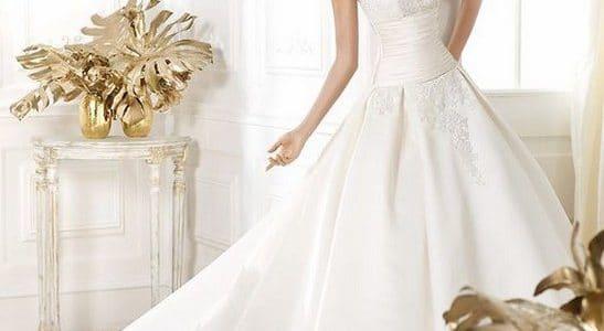 احدث قصات فساتين زفاف تركية