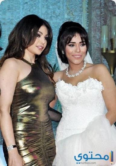 ca2bd74539244 صور فساتين زفاف فنانات العرب 2019 - موقع محتوى