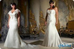 طرق إختيار فستان زفاف للسمينات