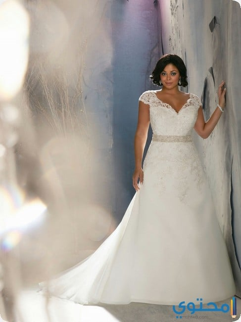 طرق إختيار فستان زفاف للسمينات - موقع محتوى