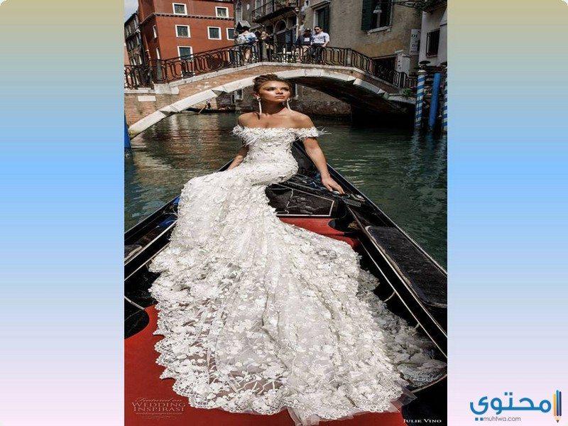 فساتين زفاف ذيل السمكة